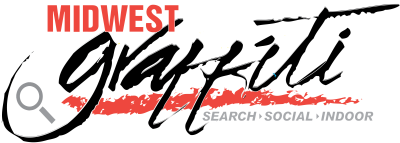 Midwest Graffiti Logo - Search, Social, Indoor
