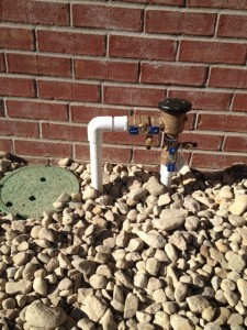 In the event of cold weather, cover your backflow preventer!