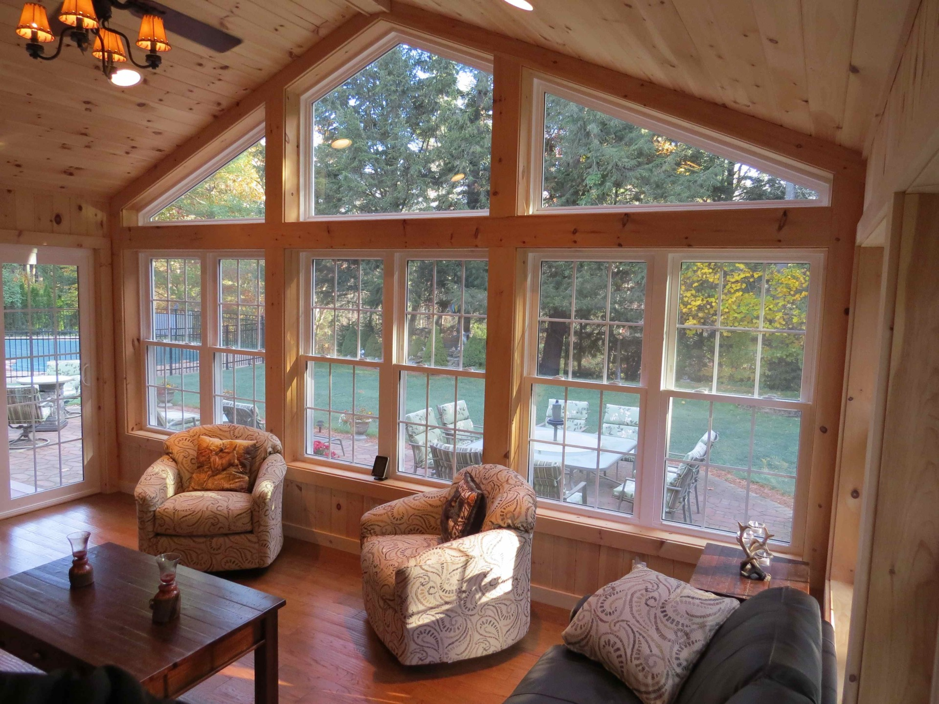 Morgan exteriors design build sunrooms and replacement for 4 season sunroom