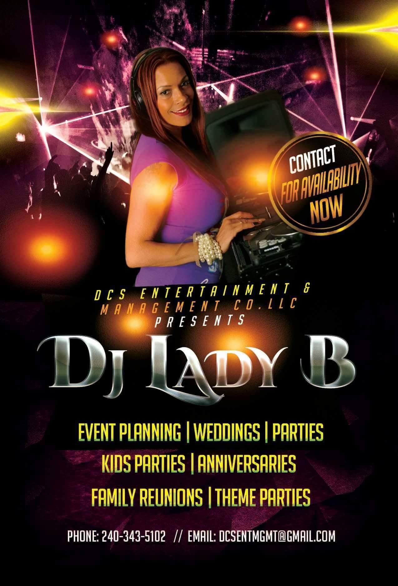 DCS Events Dj Lady B