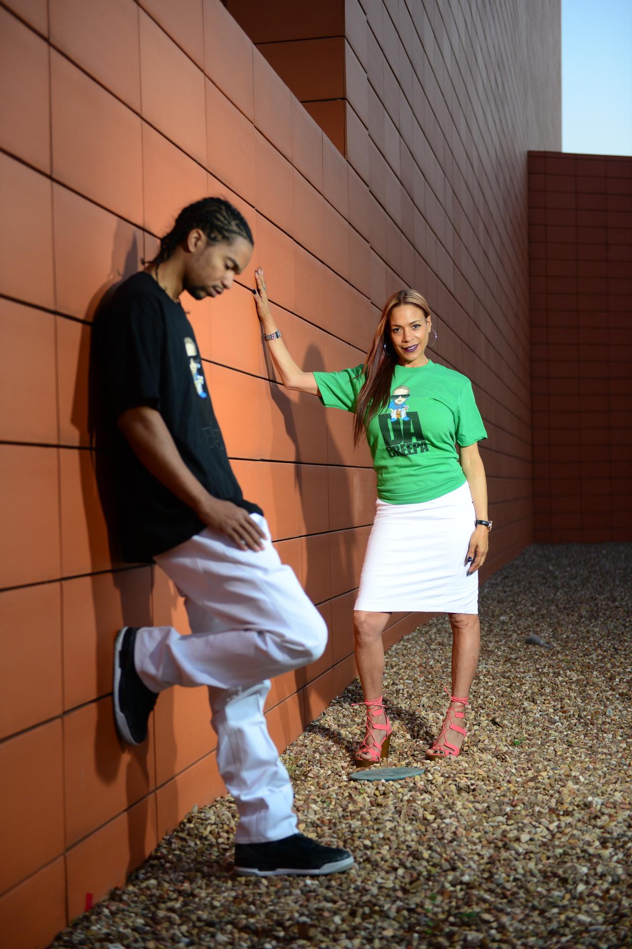 DCS and Rap Artist DaCreepa