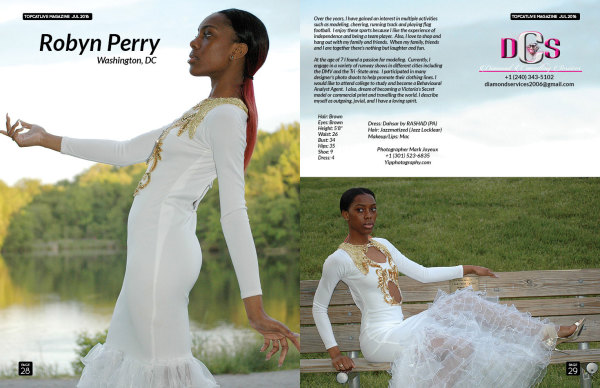 Published Teenage Model Robyn Perry