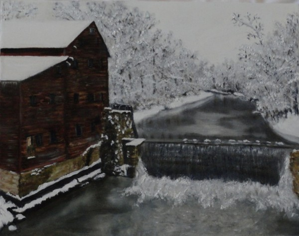 Winter at Pinecreek Gristmill