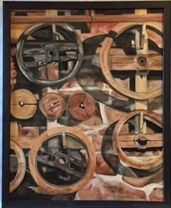 Gristmill Wheels- Pine Creek
