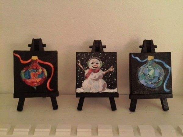 Ornaments...... Snowman (sold)