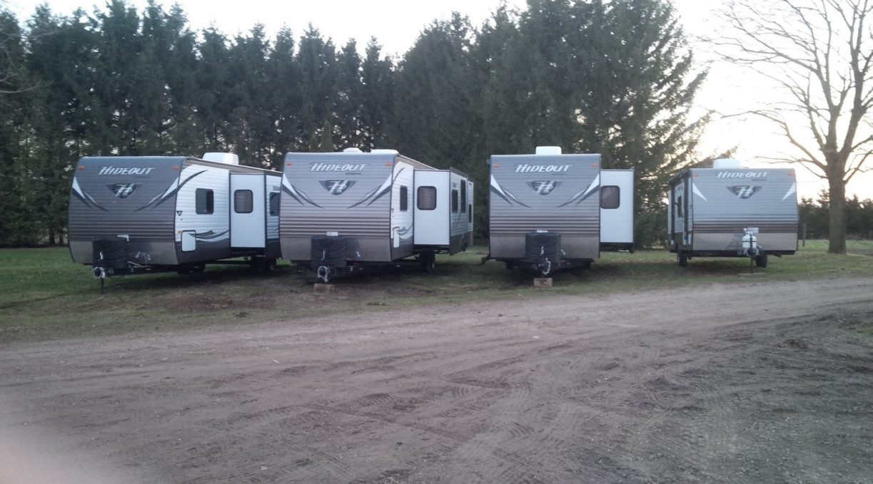 Hideout Travel Trailer Lineup