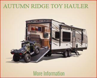 Autumn Ridge Toy Hauler