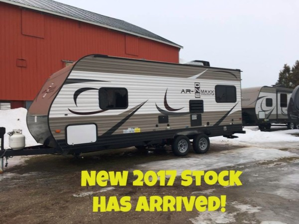 New Travel Trailers For Sale!