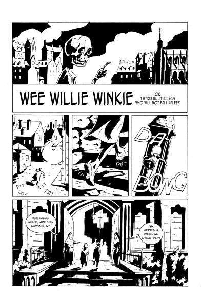 "Page from ""Wee Willie Winkie"""