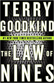 Cover design for The Law of Nines