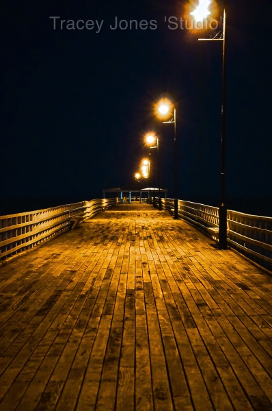 ...the pier.