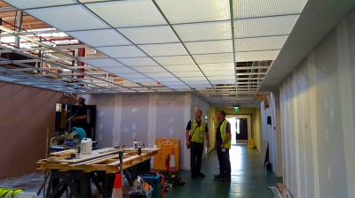 Corridor refurbishment