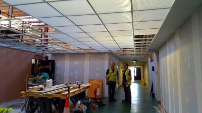 Corridor refurbishment