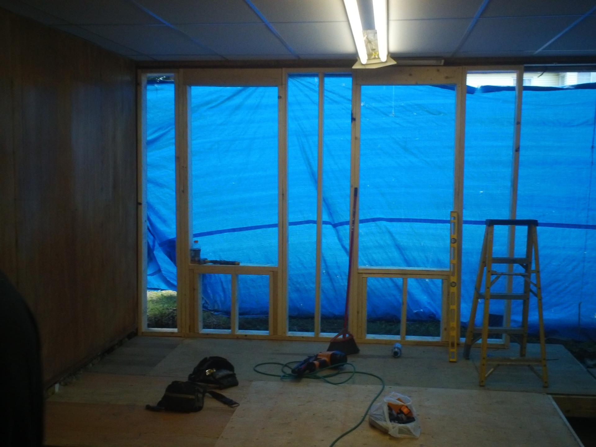 Framing, Window install