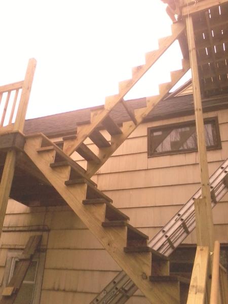 Baldwinville, MA Deck