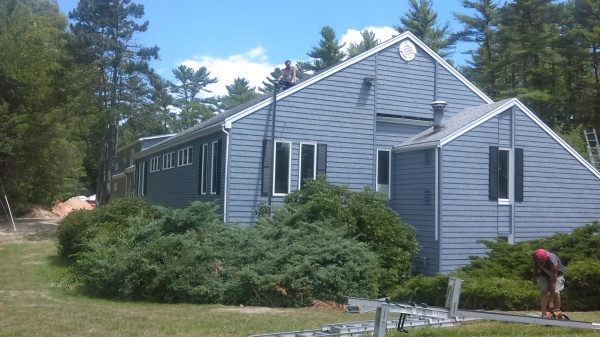 Marshfield, MA Dentist Office, Siding