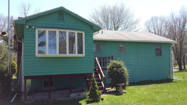Hadley MA siding, window, gutter job