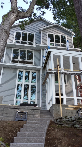 siding, roofing, drywall, framing