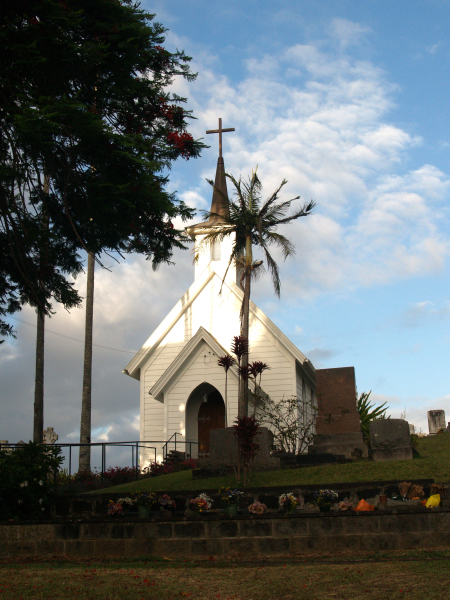 Church on the Big Island of Hawaii