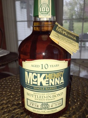 Henry McKenna - Single Barrel - Bottled In Bond