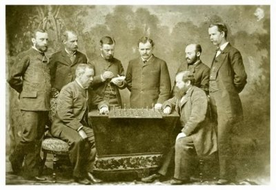 1886 Steintz (the World Chess Championship) defeats Zukertort