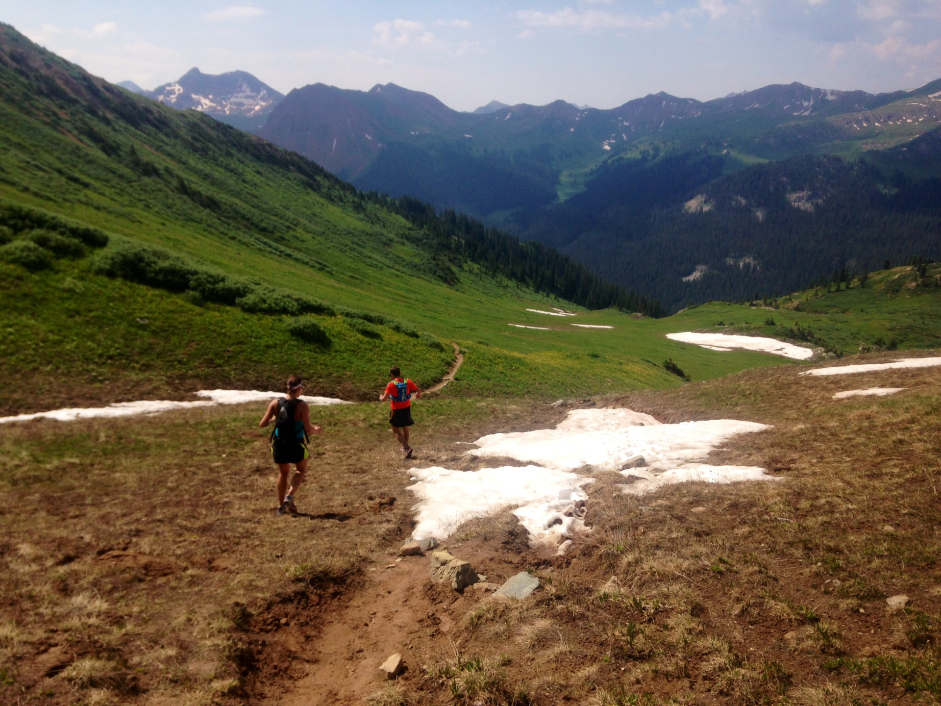 running maroon bells four pass loop