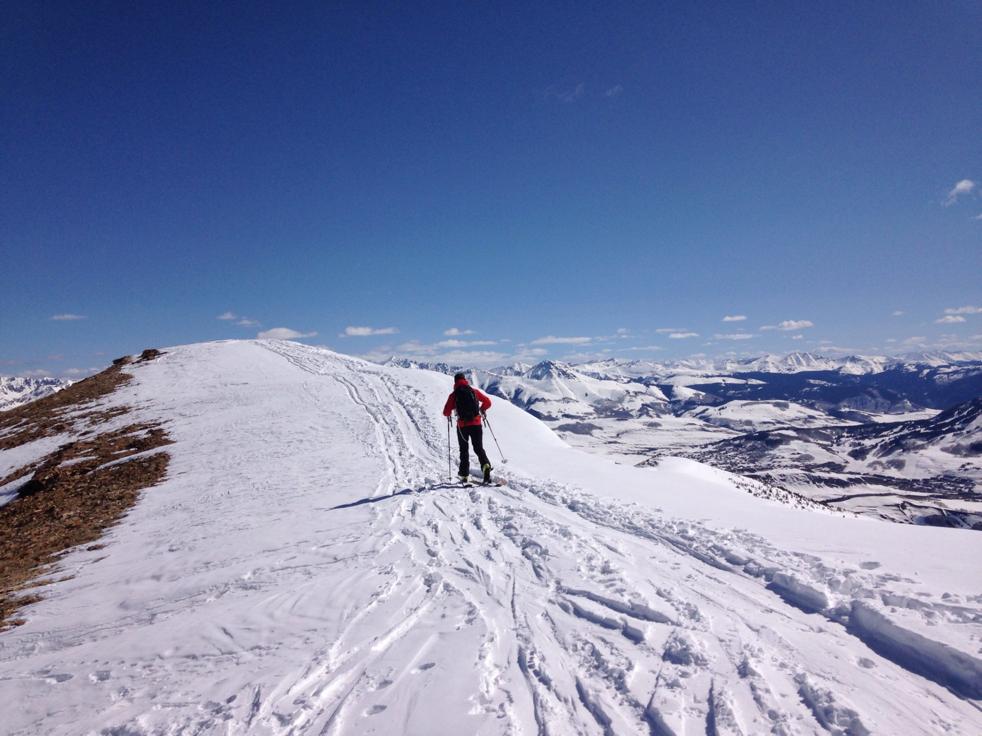 Backcountry touring a Crested Butte Classic