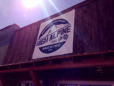 high alpine brewing company, gunnison, colorado