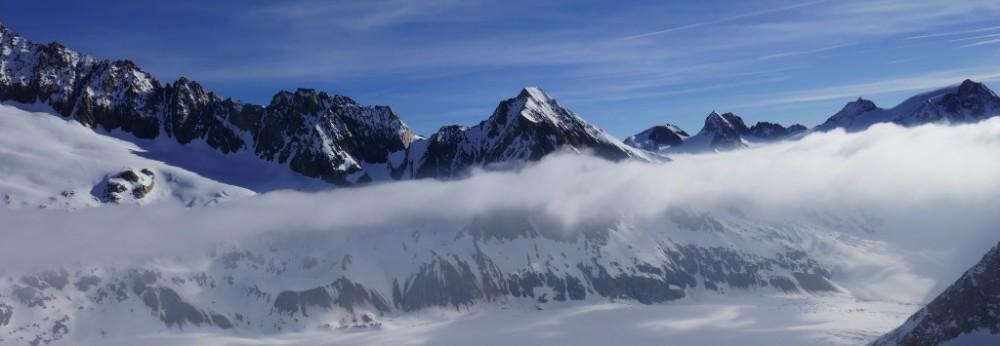 Hut trip in swiss alps
