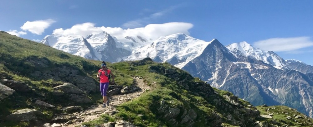 Running the Tour du Mont Blanc