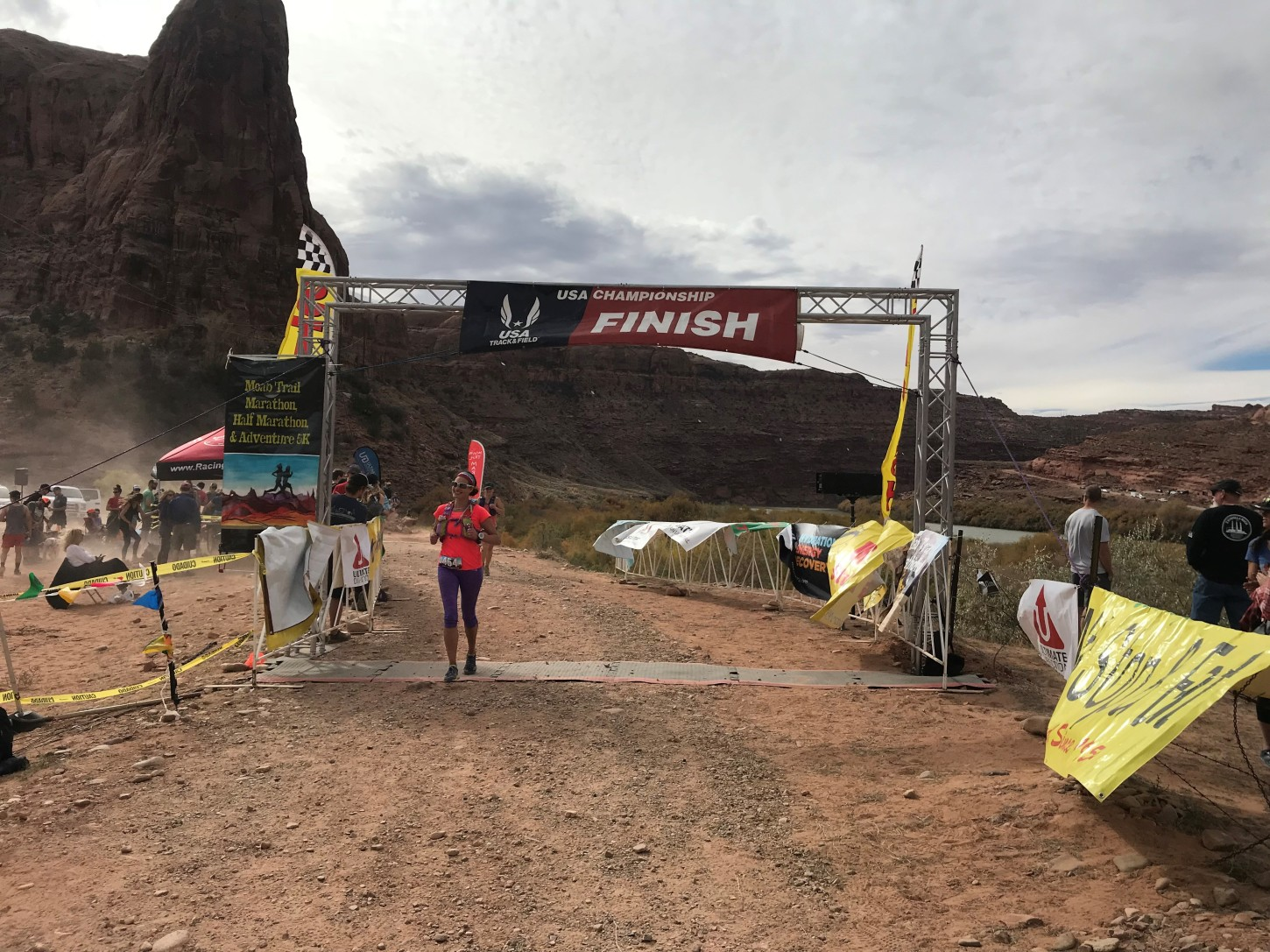 Moab Marathon: Staying Active in Shoulder Season