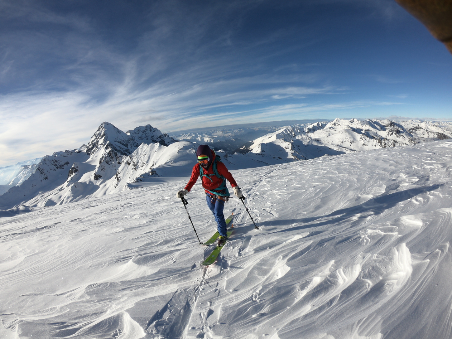 Ski Touring in the Ortler Alps