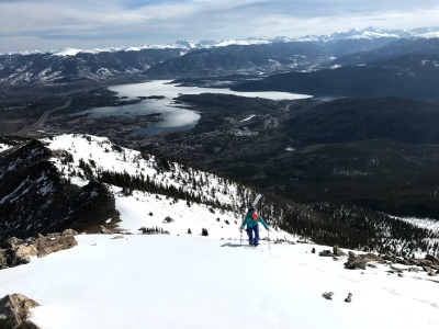 Backcountry Skiing Peak 1