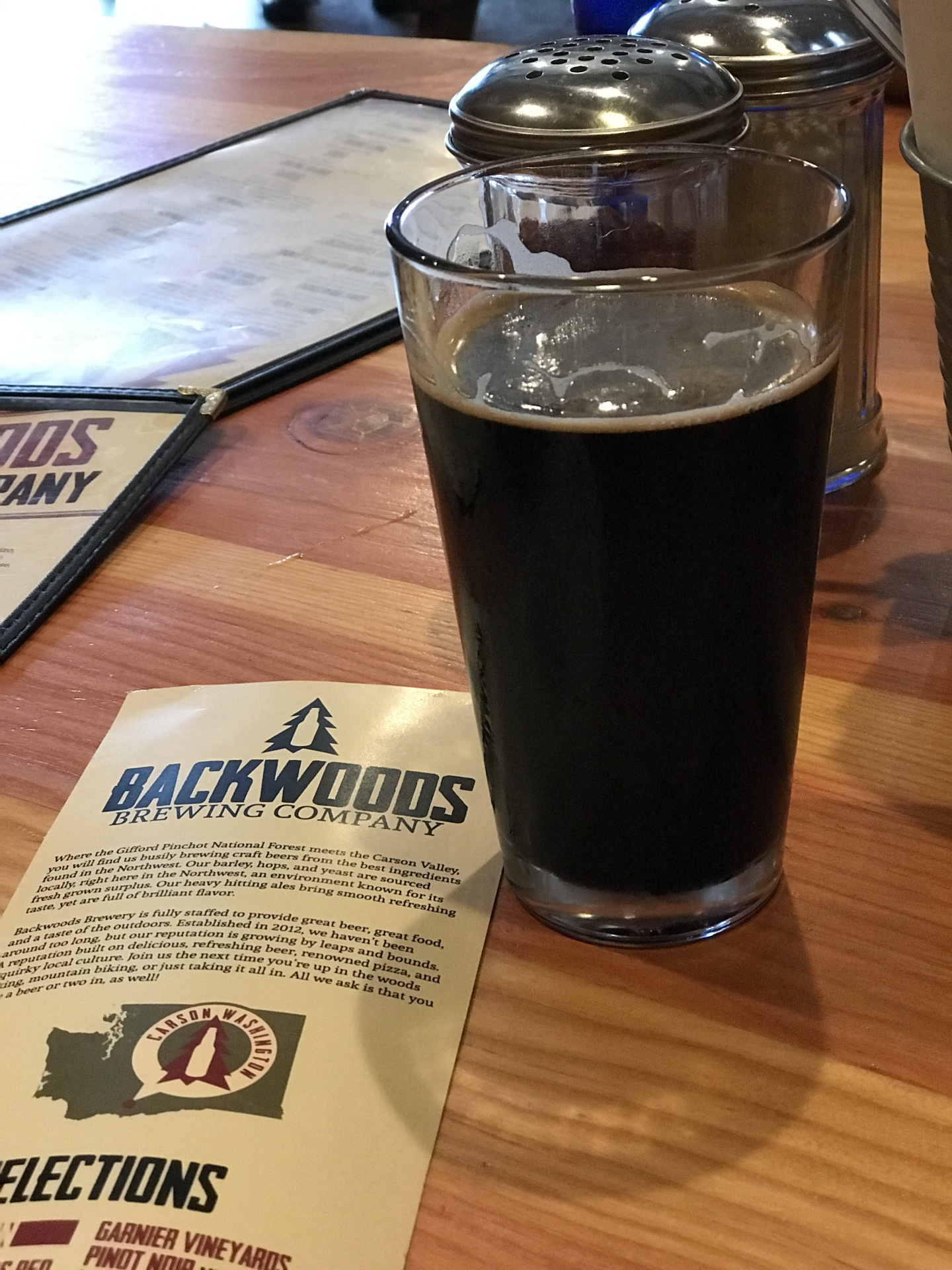 Backwoods Brewing Company