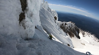 Skiing Mount Hood