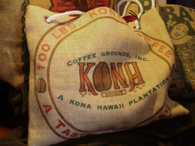 Hawaiian Coffee & Tropical Teas Peaberry Kona & Private Reserve Kona