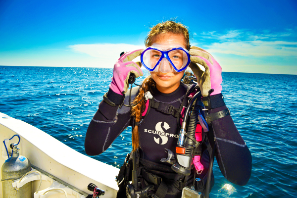 Female Diver, Diving in Pensacola, Diver, SCUBA, diving