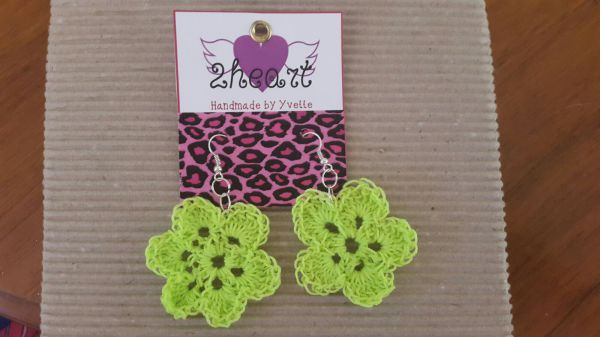 Flower Sun Earrings