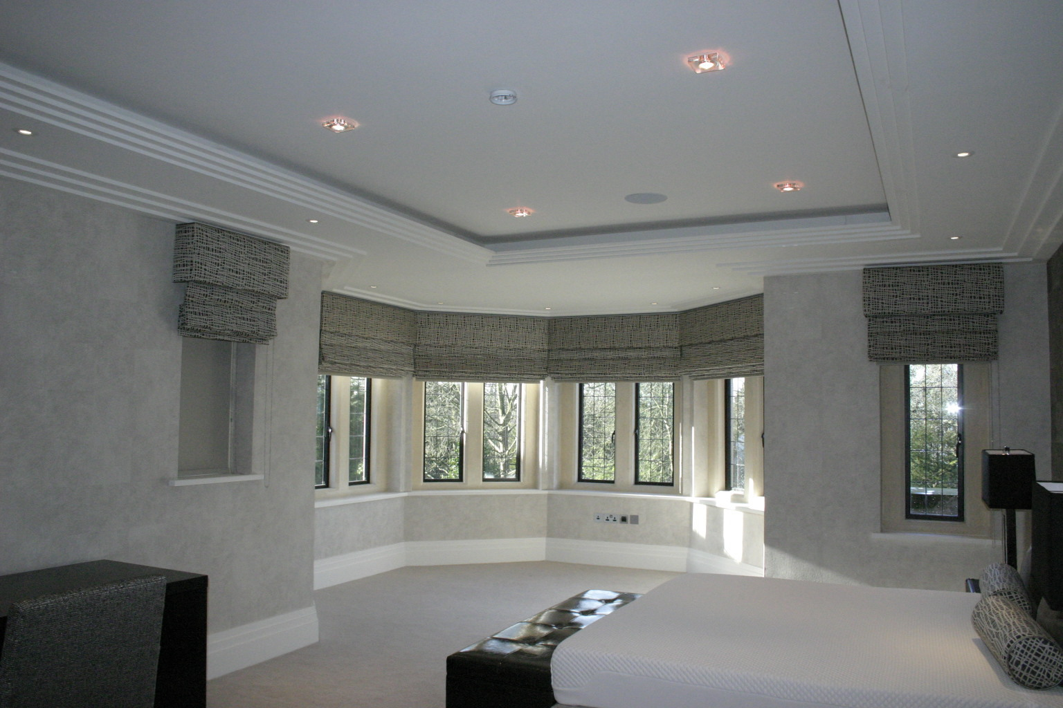 Stunning Bedroom Bay Window