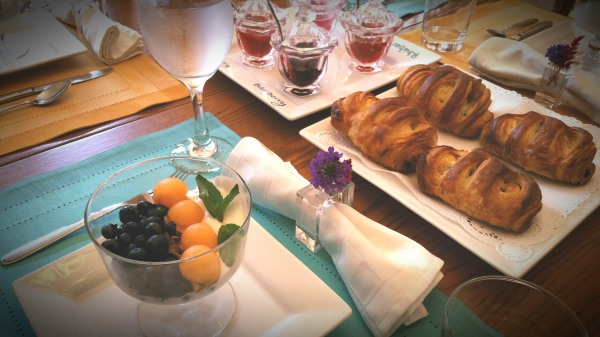 Gourmet breakfast served daily