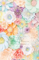 spring wedding, paper flowers london, paper flower backdrop, perfabulous, paper flower wedding