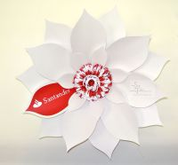 office decoration, paper flowers london, oversized paper flower, perfabulous