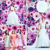 catwalk decoration, paper flowers, london paper flowers, paper floral artistry