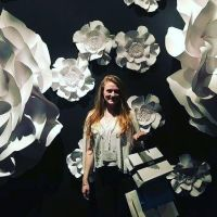 oversized paper flowers, paper flowers uk, giant paper flowers, paper flowers london, perfabulous