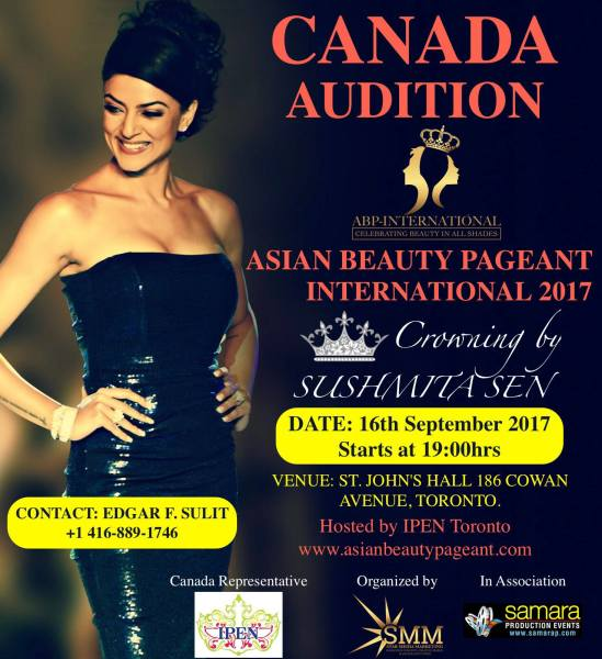 Canada Auditions