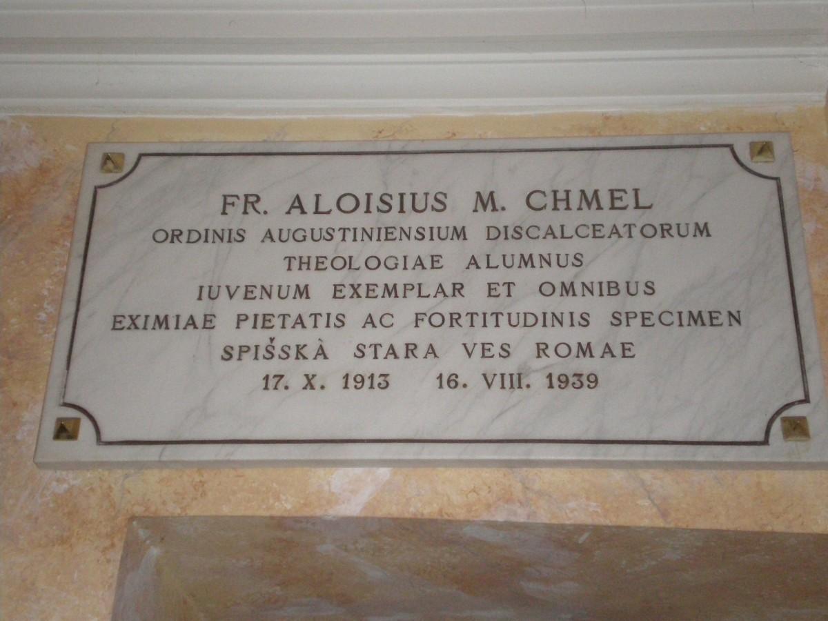 Servo di Dio Fra Luigi Chmel