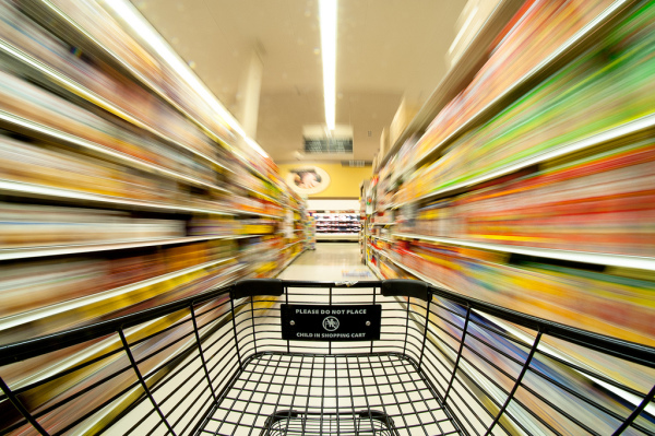 Consumer Market Research Shopping Blur