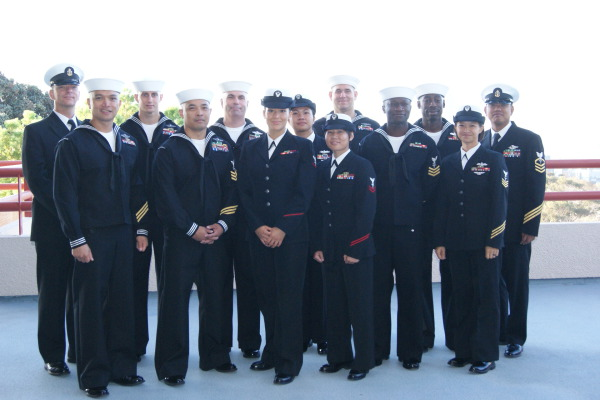 Dress Blues Inspection