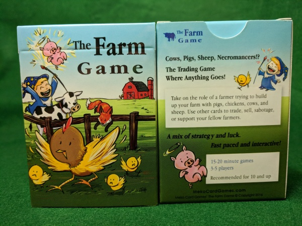 The Farm Game box front & back