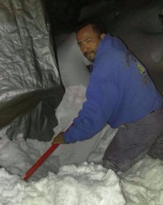 Snow removal Remoción de nieve
